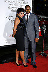"""HOLLYWOOD, CA. - October 20: Tisha Campbell Martin and husband Duane Martin arrive at the Los Angeles Premiere of """"Zack And Miri Make A Porno"""" at the Grauman's Chinese Theater on October 20, 2008 in Hollywood, California."""