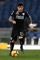 Diego Farias of Empoli in action during the Serie A 2018/2019 football match between Lazio and Empoli at stadio Olimpico, Roma, February 7, 2019 <br />  Foto Andrea Staccioli / Insidefoto