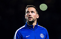 Danny Drinkwater of Chelsea ahead of the Carabao Cup semi final 1st leg match between Chelsea and Arsenal at Stamford Bridge, London, England on 10 January 2018. Photo by Andy Rowland.