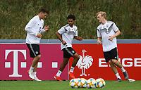 Niklas Süle (Deutschland Germany), Serge Gnabry (Deutschland Germany), Julian Brandt (Deutschland Germany) - 04.06.2019: Training der Deutschen Nationalmannschaft zur EM-Qualifikation in Venlo/NL