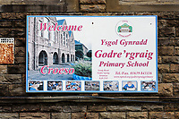 2019 07 12 Godre'r Graig Primary School near Ystalyfera, Wales, UK