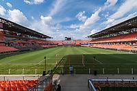 Houston, TX - Friday August 02, 2019: NWSL regular season match between the Houston Dash and Reign FC at BBVA Stadium.