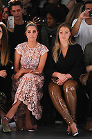 Amber Le Bon and Iskra Lawrence<br /> at the Bora Aksu SS18 Show as part of London Fashion Week, London<br /> <br /> <br /> ©Ash Knotek  D3308  15/09/2017