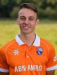 BLOEMENDAAL - Yannick van der Drift (Bldaal). Heren I van HC Bloemendaal , seizoen 2019/2020.   COPYRIGHT KOEN SUYK