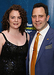 "Oliver Butler with his fiance attends the Broadway Opening Night Performance After Party for  ""What The Constitution Means To Me"" at Ascent Lounge on March 31, 2019 in New York City."