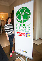 02/04/2015<br /> Joanne McGreevy Managing Director Mirror Media Ireland <br />  during the Pride of Ireland judging day in the Mansion House, Dublin.<br /> Photo:  Gareth Chaney Collins