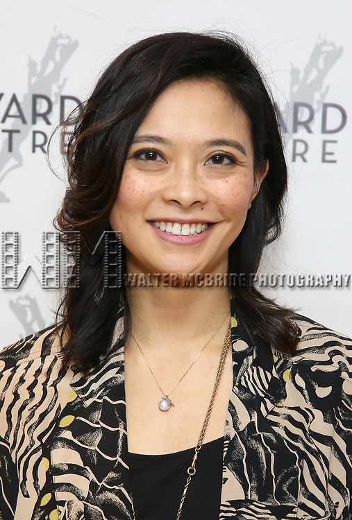"""Tiffany Villarin attends the photo call for the Vineyard Theatre production of """"Do You Feel Anger?"""" at the Vineyard Theater Rehearsal studio Theatre on February 14, 2019 in New York City."""