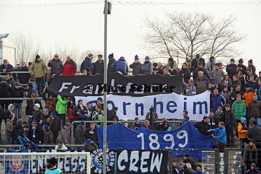 Fans des FSV Frankfurt - FSV Frankfurt vs. TSV 1860 München Frankfurter Volksbank Stadion