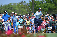 Phil Mickelson (USA) watches his tee shot on 3 during round 1 of The Players Championship, TPC Sawgrass, at Ponte Vedra, Florida, USA. 5/10/2018.<br /> Picture: Golffile | Ken Murray<br /> <br /> <br /> All photo usage must carry mandatory copyright credit (&copy; Golffile | Ken Murray)
