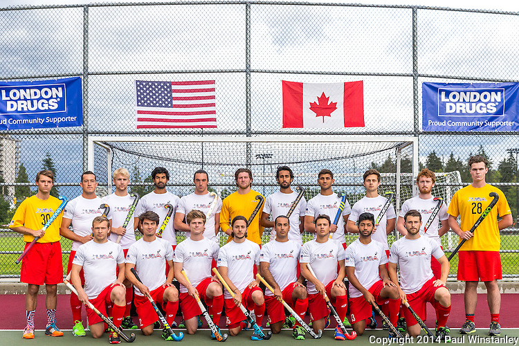 Canada Men vs USA Men at Rutledge Field  2016 in West Vancouver, BC, Canada