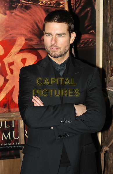 TOM CRUISE.The Last Samurai Italian premiere, Rome.*Not for sale in Italy*.7 January 2004.half length, half-length, arms folded.www.capitalpictures.com.sales@capitalpictures.com.©Capital Pictures