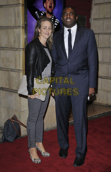 LONDON, ENGLAND - OCTOBER 23: Nicola Green &amp; David Lammy MP attend the &quot;Memphis&quot; press night performance, Shaftesbury Theatre, Shaftesbury Avenue, on Thursday October 23, 2014 in London, England, UK. <br /> CAP/CAN<br /> &copy;Can Nguyen/Capital Pictures