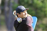 Patrick Reed (USA) tees off the 4th tee at Monterey Peninsula CC during Saturday's Round 3 of the 2018 AT&amp;T Pebble Beach Pro-Am, held over 3 courses Pebble Beach, Spyglass Hill and Monterey, California, USA. 10th February 2018.<br /> Picture: Eoin Clarke | Golffile<br /> <br /> <br /> All photos usage must carry mandatory copyright credit (&copy; Golffile | Eoin Clarke)
