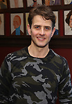 """Joey McIntyre attends the photocall for Joey McIntyre and Eddie Jamison join the cast of Broadway's """"Waitress"""" at Sardi's on January 29, 2019 in New York City."""