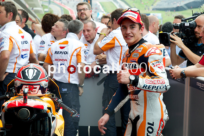 austin. tejas. USA. motociclismo<br /> GP in the circuit of the americas during the championship 2014<br /> 13-04-14<br /> En la imagen :<br /> RACES PITLANE & PARC FERMÉ M GP<br /> marc marquez<br /> photocall3000 / rme