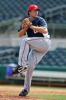 Washington Nationals pitcher Taylor Hill #36 during an Instructional League game against the Houston Astros at Osceola County Stadium on September 26, 2011 in Kissimmee, Florida.  (Mike Janes/Four Seam Images)