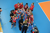 VOLLEYBAL: ZWOLLE: 19-02-2017, Landstede Sportcentrum, Bekerfinale VC Sneek - Sliedrecht Sport, uitslag 3-1, ©foto Martin de Jong