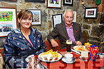 Behan's Horseshoe Bar, Listowel: Geraldine & Jim Woods, Tarbert enjoying their first meal in a retaurant in 3 months at Behan's Horseshoe Bar & Restaurant, Listowel on Monday evening last.