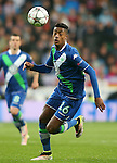WfL Wolfsburg's Bruno Henrique during Champions League 2015/2016 Quarter-finals 2nd leg match. April 12,2016. (ALTERPHOTOS/Acero)