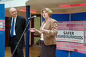 London Mayor Ken Livingstone and Karen Buck MP at the launch  of Metropolitan Police Service's Safer Neighbourhoods team for Queen's Park at Acton Housing Association's Beethoven Centre.