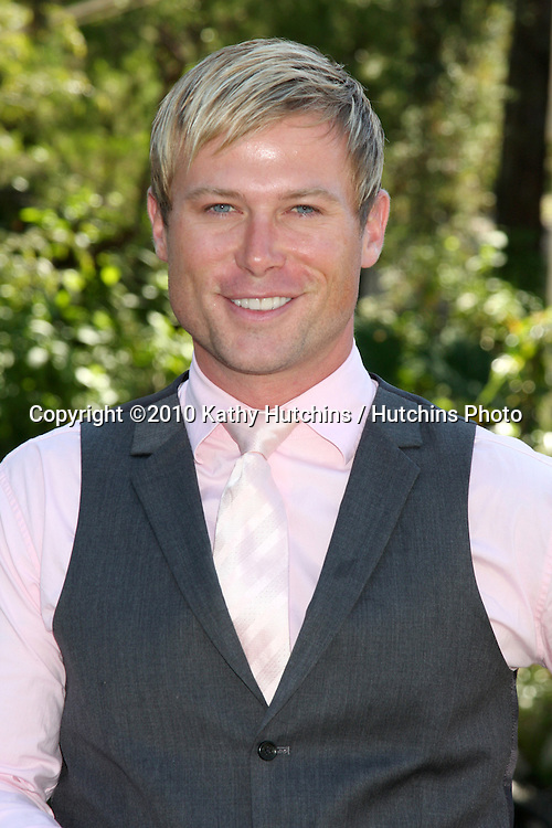 """LOS ANGELES - SEP 25:  Jacob Young arrives at the """"All My Children"""" 2010 Fan Club Luncheon at Sportsman's Lodge on September 25, 2010 in Studio City, CA"""