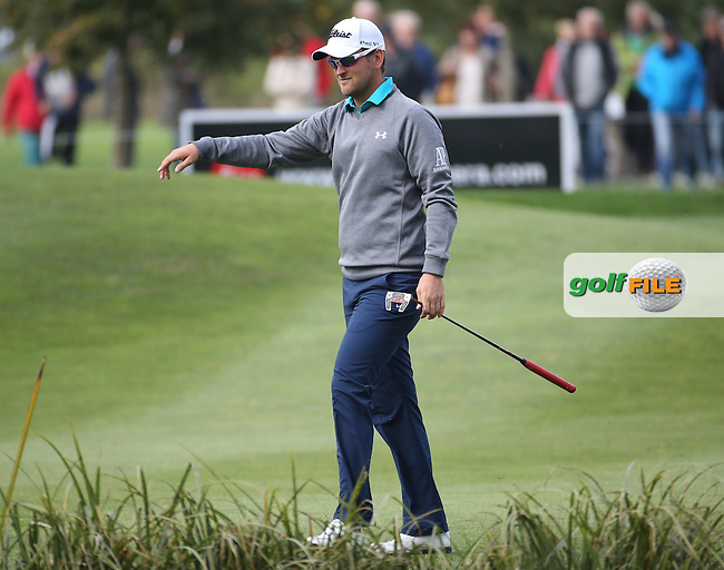 Bernd Wiesberger (AUT) during the First Round of the Porsche European Open 2015 played at Golf Resort Bad Griesbach, Bad Griesbach, Germany.  24/09/2015. Picture: Golffile | David Lloyd<br /> <br /> All photos usage must carry mandatory copyright credit (&copy; Golffile | David Lloyd)