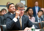 Vice Admiral Joseph Maguire (US Navy retired), acting Director of National Intelligence, testifies before the US House Permanent Select Committee on Intelligence on the  Whistleblower Complaint on Capitol Hill in Washington, DC on Thursday, September 26, 2019.<br /> Credit: Ron Sachs / CNP<br /> (RESTRICTION: NO New York or New Jersey Newspapers or newspapers within a 75 mile radius of New York City)