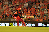 8th January 2018, The WACA, Perth, Australia; Australian Big Bash Cricket, Perth Scorchers versus Melbourne Renegades; Tom Cooper of the Melbourne Renegades gets outside off stump to play down through fine leg during his innings