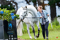 NZL-Michelle Baillie presents Hullabalou during the FMG CCN95 First Horse Inspection. 2018 NZL-Puhinui International Horse Trials. Auckland. Thursday 6 December. Copyright Photo: Libby Law Photography