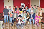 Donal Ryan Castleisland seated centre who celebrated his 40th birthday with his family and friends in the Kingdom House Castleisland on Saturday night..