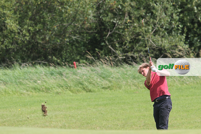 Thomas Detry (Belgium) on the Final Day of the International European Amateur Championship 2012 at Carton House, 11/8/12...(Photo credit should read Jenny Matthews/Golffile)...