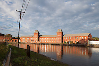 Crocker Paper Mill, second level canal, Holyoke, MA