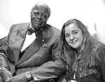 Oscar Peterson and Rainbow Roberts