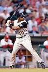 5 June 2007: Pittsburgh Pirates outfielder Rajai Davis in action against the Washington Nationals at RFK Stadium in Washington, DC. The Pirates defeated the Nationals 7-6, in the first game of their 3-game series...Mandatory Credit: Ed Wolfstein Photo