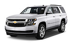 2019 Chevrolet Tahoe LS 5 Door SUV angular front stock photos of front three quarter view