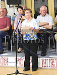 Caitriona Dillon reading Poetry at the Social evening in Drumshallon Forge. Photo:Colin Bell/pressphotos.ie