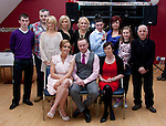 Andy O' Brien with his family at his 30th in the Thatch..Picture: Shane Maguire / www.newsfile.ie