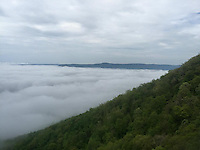 Courtesy photo/KRISTEN LEWIS<br /> Above the clouds on the Appalachian Trail.