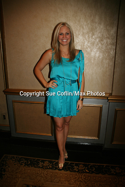 Terri Colombino - As The World Turns attends the Shower with the Stars which benefits the Young Women's Breast Cancer Foundation and Cancer Caring Center of Pittsburgh on March 26, 2010 at the LeMont Restaurant, Pittsburgh, PA. (Photo by Sue Coflin/Max Photos)