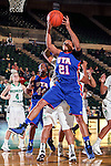 Texas Arlington Mavericks forward Briana Walker (21) in action during the game between the Texas Arlington Mavericks and the North Texas Mean Green at the Super Pit arena in Denton, Texas. UTA defeats UNT 59 to 50...