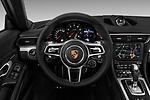 Car pictures of steering wheel view of a 2017 Porsche 911 Carrera-Coupe 2 Door Coupe Steering Wheel
