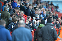 Stevenage Fans Stevenage Fans  during Stevenage vs Reading, Emirates FA Cup Football at the Lamex Stadium on 6th January 2018