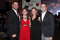 NWA Democrat-Gazette/CARIN SCHOPPMEYER Mark and Jen Hann (from left) and Liz and Alex Hernandez attend Dream Big.