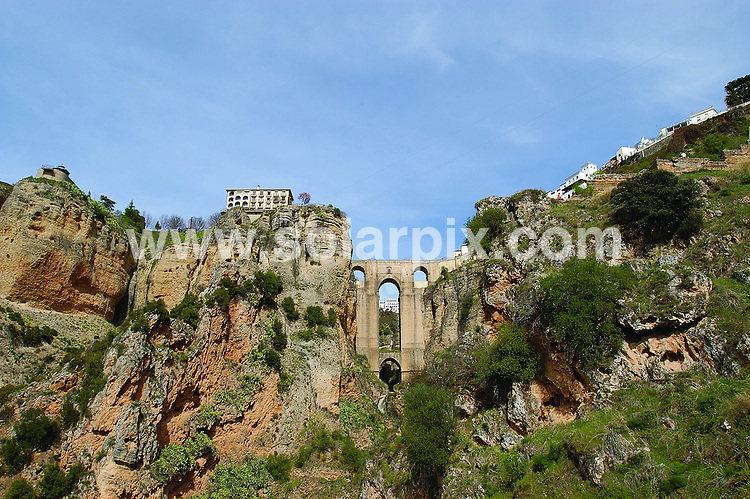 **ALL ROUND EXCLUSIVE PICTURES FROM SOLARPIX.COM**.**WORLDWIDE SYNDICATION RIGHTS**.General views of the Spanish Roman historical mountain village of Ronda in Andalucia Spain 2008..JOB REF: 7918        CS1        DATE:17.11.08.**MUST CREDIT SOLARPIX.COM OR DOUBLE FEE WILL BE CHARGED* *UNDER NO CIRCUMSTANCES IS THIS IMAGE TO BE REPRODUCED FOR ANY ONLINE EDITION WITHOUT PRIOR PERMISSION*