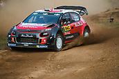 5th October 2017, Costa Daurada, Salou, Spain; FIA World Rally Championship, RallyRACC Catalunya, Spanish Rally; Kris MEEKE - Paul NAGLE of Citroen Total Abu Dhabi WRT sliding in the shakedown
