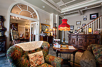 The lobby of the Hotel DeFuniak welcomes guests to slowdown and stay awhile in downtown DeFuniak Springs...COLIN HACKLEY PHOTO