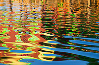 Magic reflections on Inle lake, Shan State, Myanmar/Burma