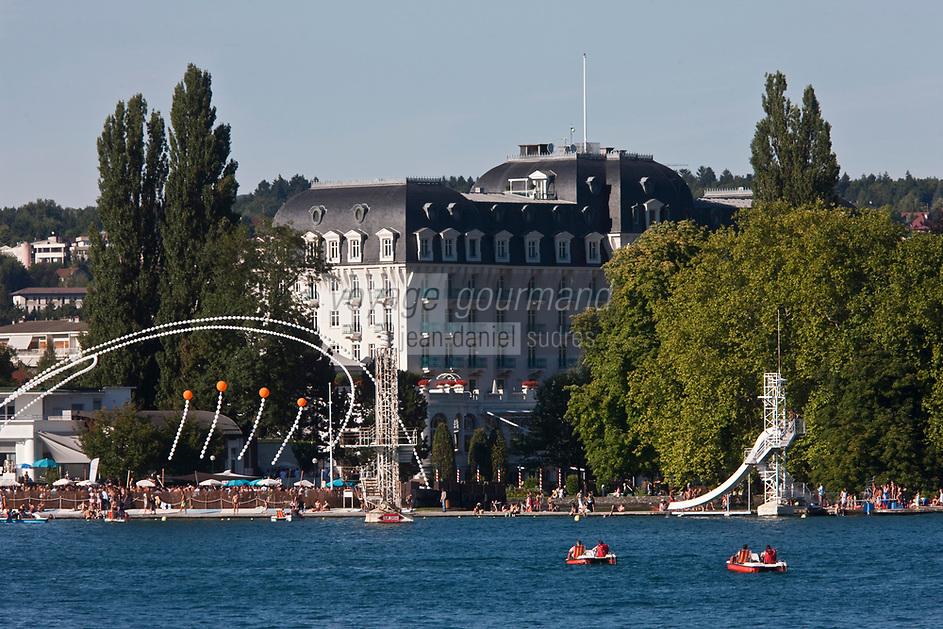Europe/France/Rhône-Alpes/74/Haute-Savoie/Annecy: les bords du Lac