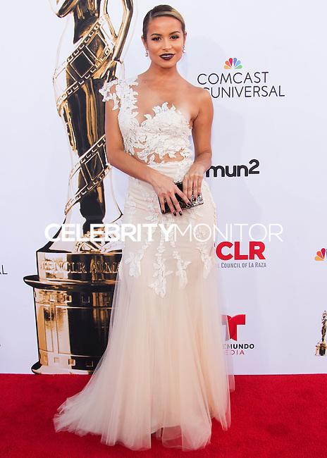 PASADENA, CA, USA - OCTOBER 10: Zulay Henao arrives at the 2014 NCLR ALMA Awards held at the Pasadena Civic Auditorium on October 10, 2014 in Pasadena, California, United States. (Photo by Celebrity Monitor)