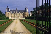 Europe/France/Poitou-Charentes/86/Vienne/Magné: Château de La Roche-Magné abrite le Musée de l'Ordre de Malte
